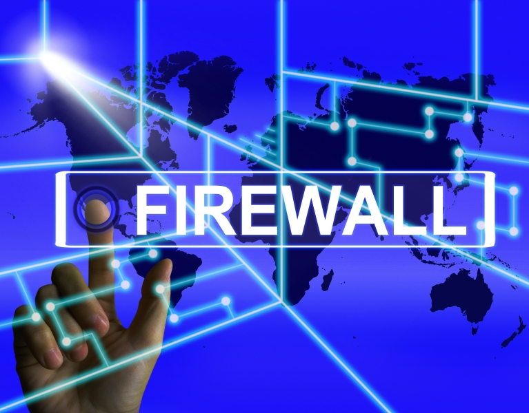 firewall-screen-refers-to-internet-safety-security-and-protection